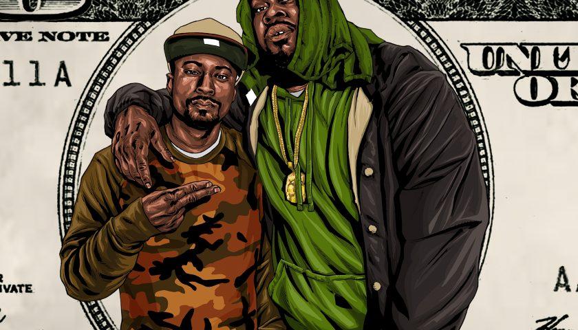 G HUFF bills artwork by Gift Revolver